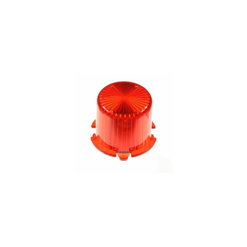 #03-8171-9 CUPOLA LAMP. FLASH ROSSO Domes - Twist On