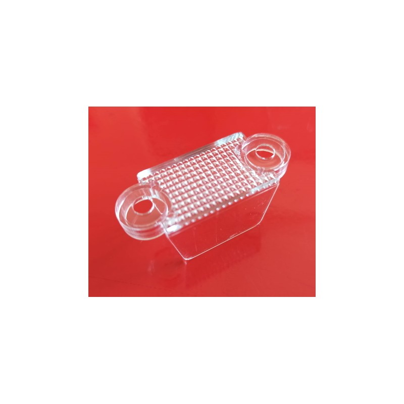 #03-8318-13 TRASPARENTE/CLEAR Lane Guide corsia 1-3/4 (32mm) Williams/Bally/JJP